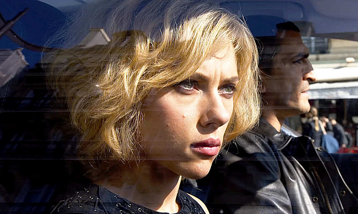 Scarlett Johansson stars in 'Lucy', a film directed by Luc Besson.