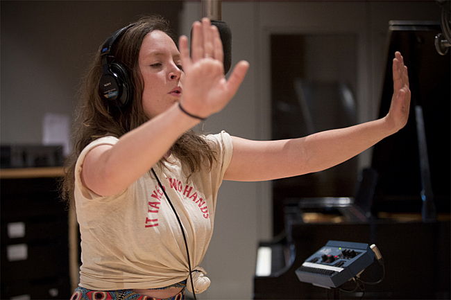 Sylvan Esso's Amelia Meath proves that it does indeed take two hands.