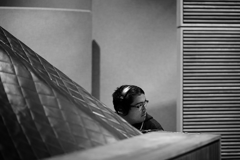 Matteo Roberts of PHOX in The Current studio.