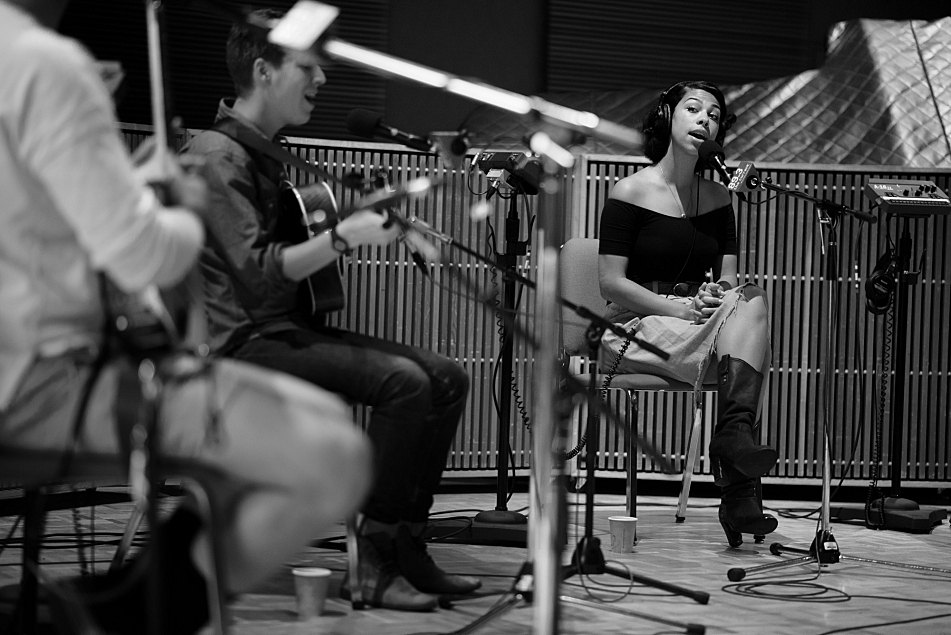 PHOX perform in The Current studio.