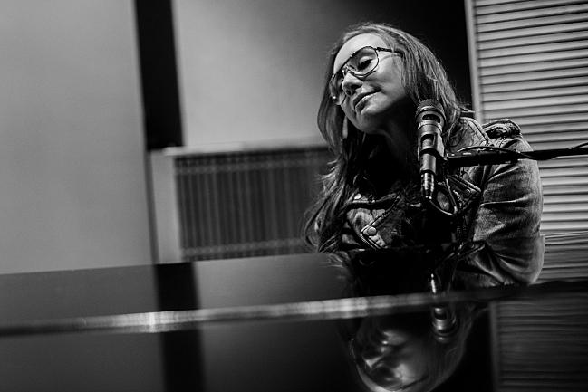 Tori Amos in The Current studio.