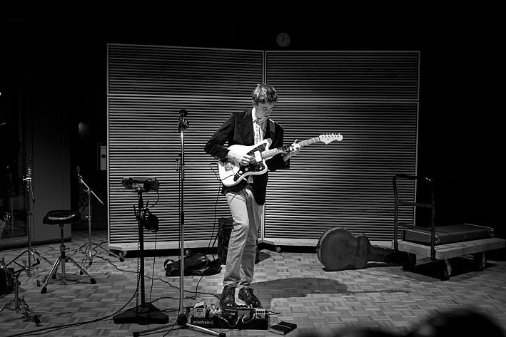 Hippo Campus perform in the Current's studios.