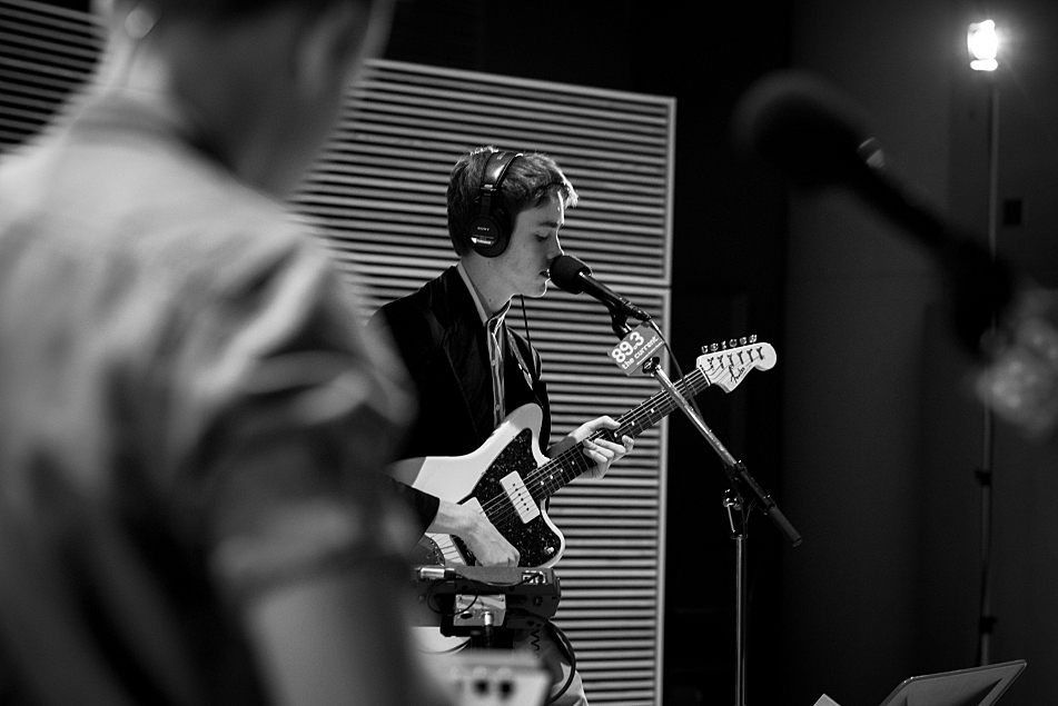 Hippo Campus perform in the Current's studios