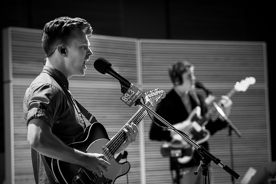 Hippo Campus perform in the Current's studios.