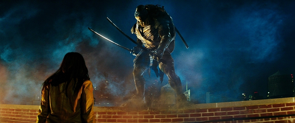 Still from 'Teenage Mutant Ninja Turtles'