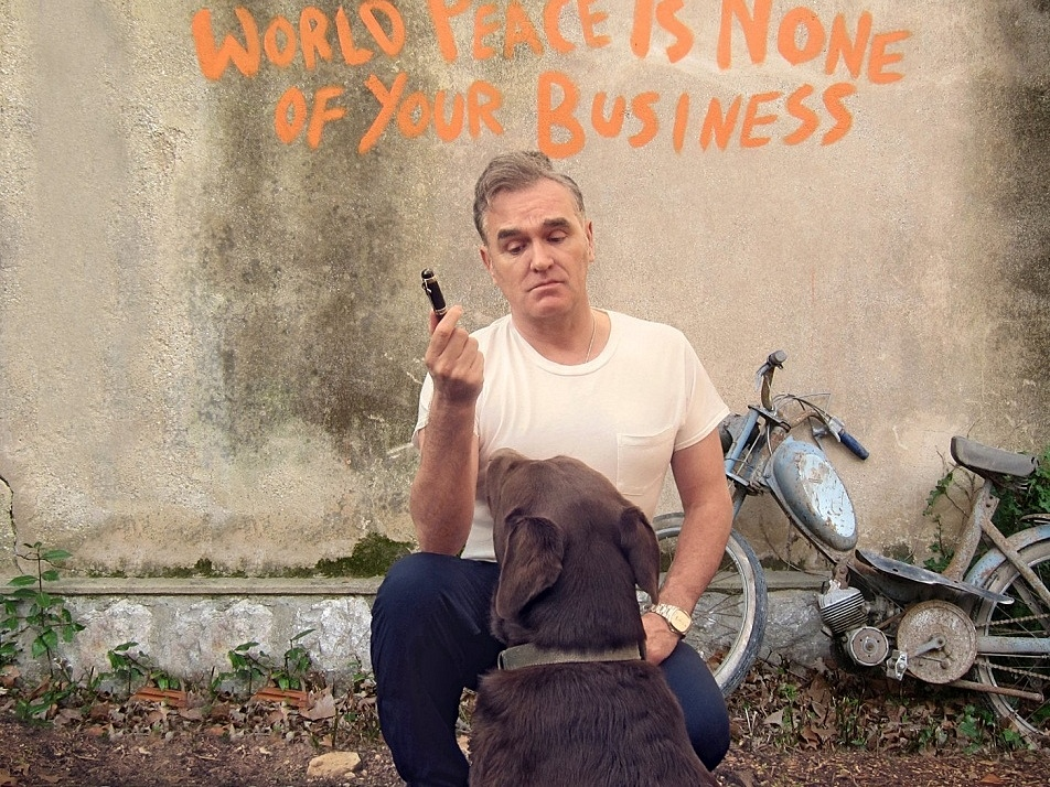 Morrissey's 2014 album, 'World Peace Is None of Your Business'