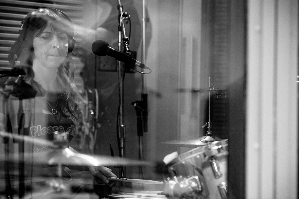 Linda Pitmon of The Baseball Project performs in The Current studio.