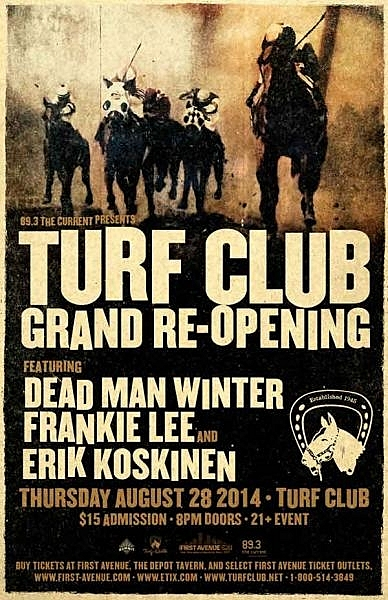 Turf Club Re-Opening