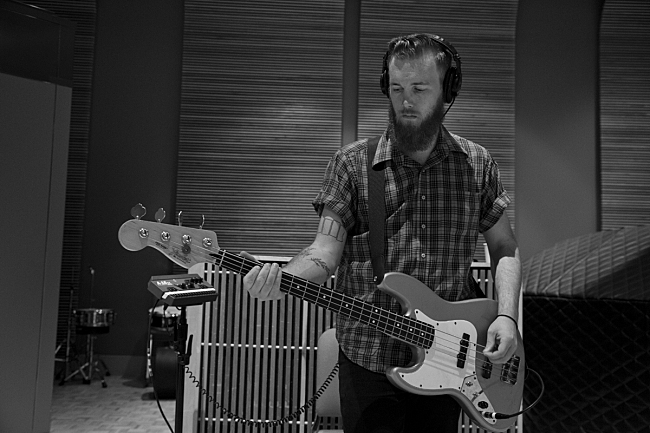 Bassist Deven Craige performing live with Strand of Oaks in The Current studio.