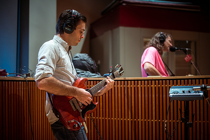The War on Drugs' Adam Granduciel with guitarist Anthony LaMarca performing live in The Current studio.