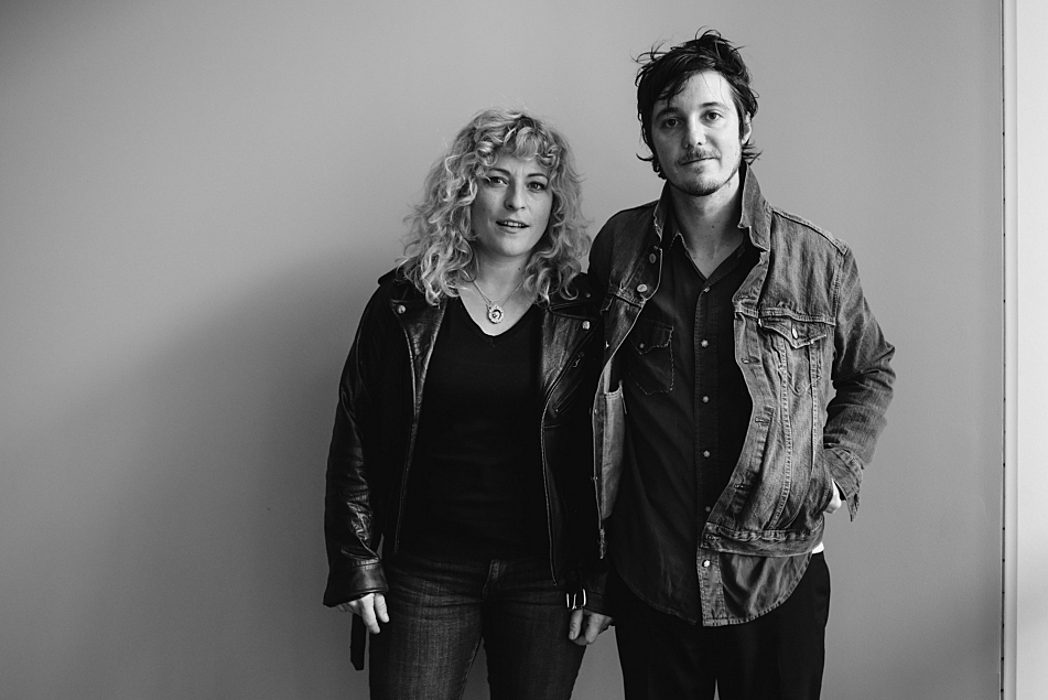 Cary Ann Hearst and Michael Trent of Shovels & Rope visit The Current studio.