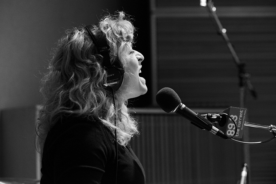 Cary Ann Hearst of Shovels & Rope performs in The Current studio.