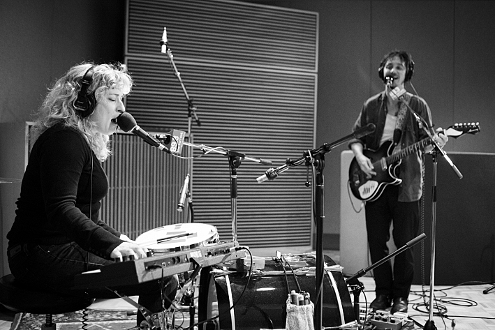 Cary Ann Hearst and Michael Trent of Shovels & Rope perform in The Current studio.