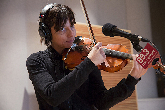Paz Lenchantin of Pixies performing live in The Current studio.