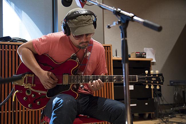 Joey Santiago of Pixies performing live in The Current studio.