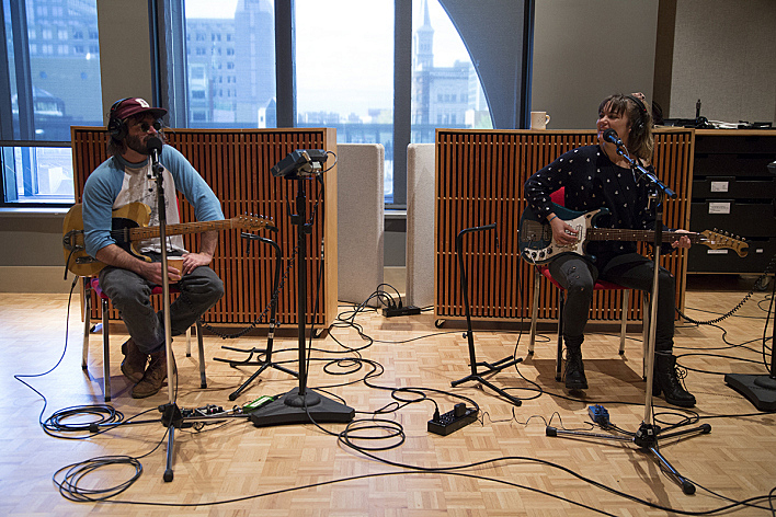 Angus & Julia Stone performing live in The Current studio.