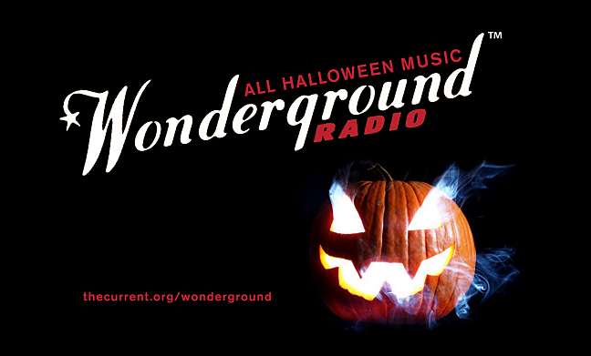 Halloween music on Wonderground Radio until Nov. 1.