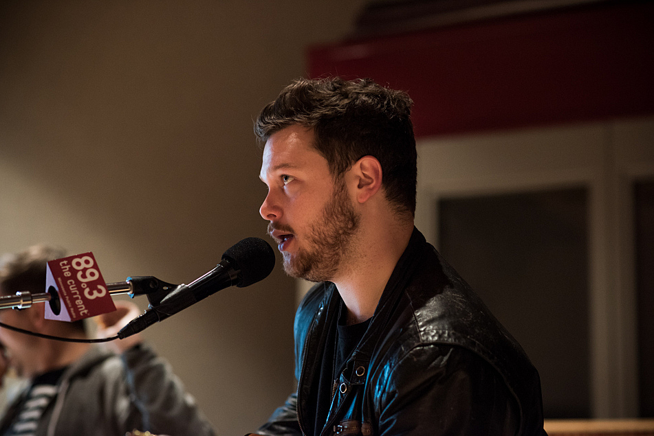 Joe Newman of alt-J perform in The Current studio.