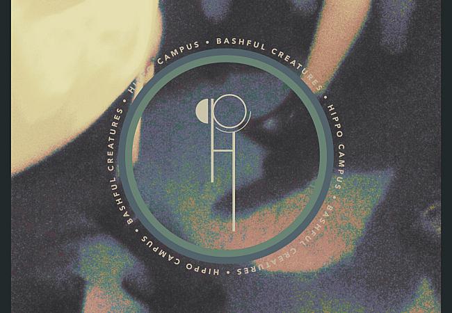 Hippo Campus' <em>Bashful Creatres</em> EP album art