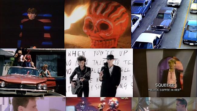 Teenage Kicks video collage
