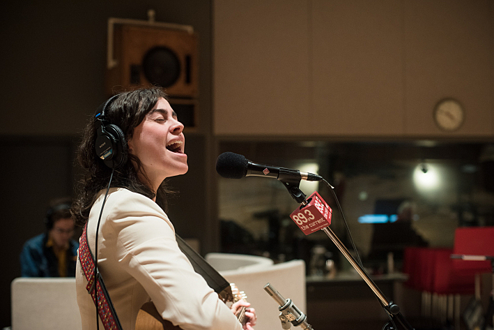 Sarah Krueger perform live in The Current studio.