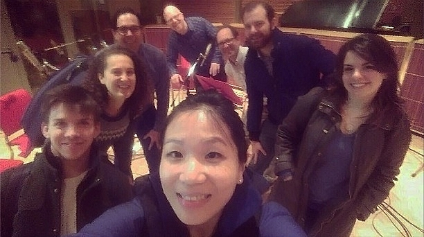 WindSync took a selfie in studio with PT staff including host Fred Child, Producer Marc Sanchez, and Technical Director Craig Thorson.