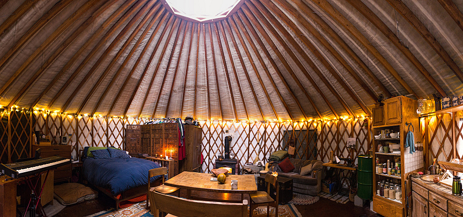 Even In The Frozen North A Yurts So Good