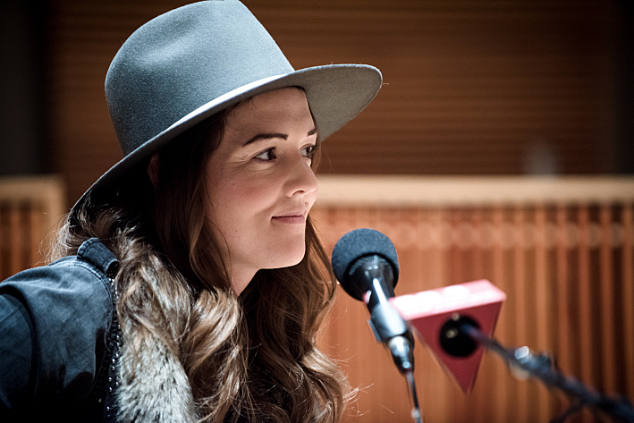 Brandi Carlile performs in The Current studio