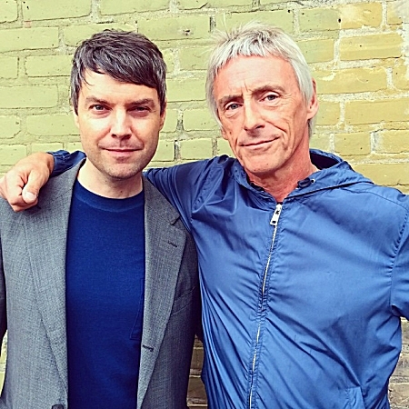 Jake Rudh and Paul Weller