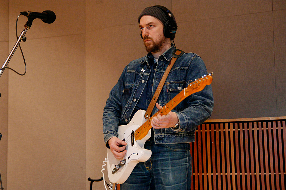 JD McPherson performs in The Current studio.