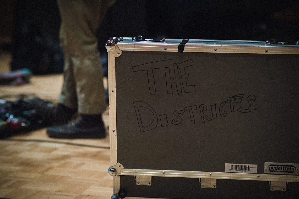 The Districts perform in The Current's studio.