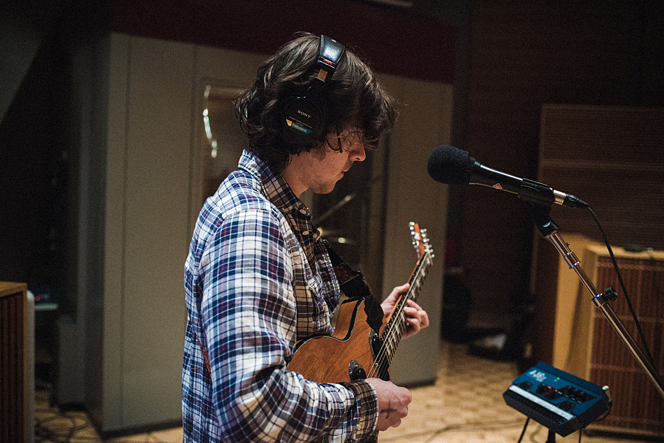 Guitarist Pat Cassidy of The Districts performs in The Current's studio.