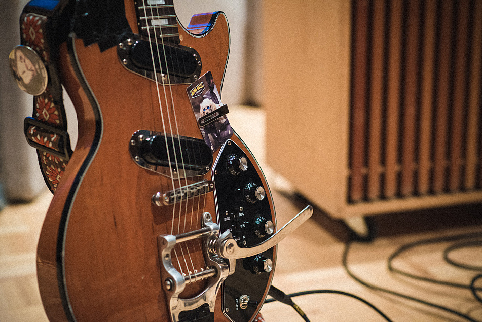 The Districts' Gibson Les Paul Recording II.