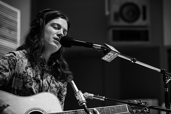 BORNS performing live in The Current studio