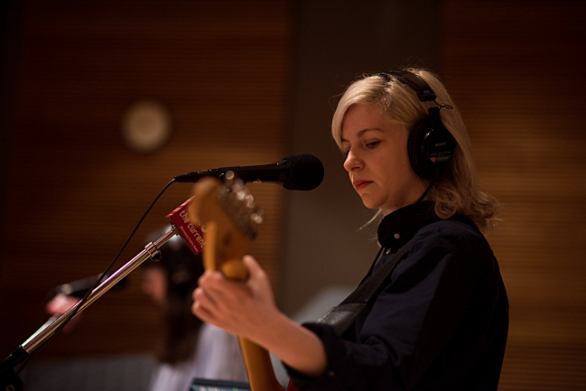 Alvvays guitarist/lead vocalist Molly Rankin performing live in The Current studio