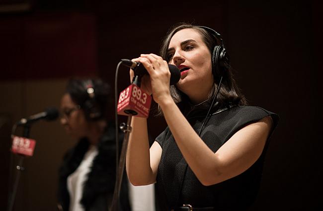 Meg Mac performs in The Current studio.