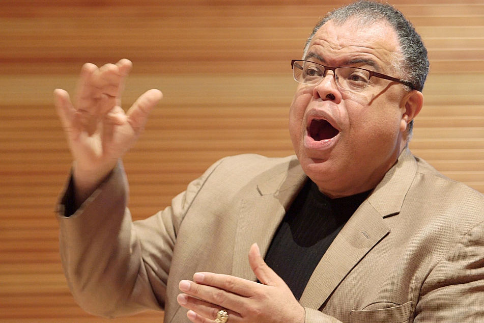 St. Olaf Choir conductor Anton Armstrong, who succeeded Kenneth Jennings in 1990.