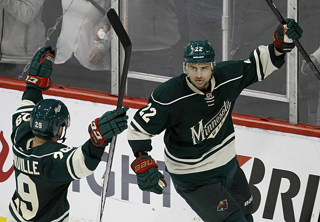 Penalty-free Wild Give Chippy Blues Cold Shoulder With 3-0 Win (audio)