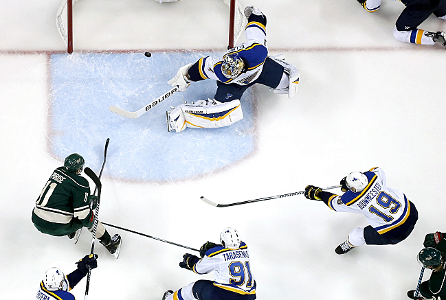 Wild Eliminate Blues, Advance To Play Chicago
