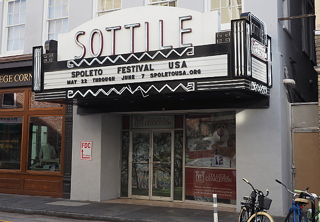 Sottile Theater in Charleston, SC.