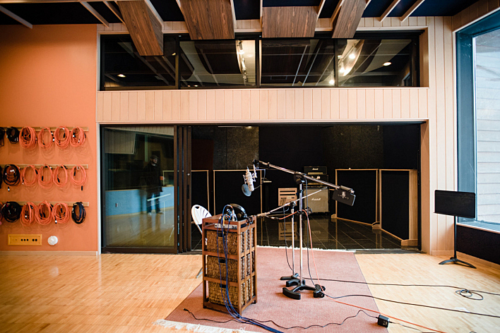 Seedy Underbelly --formerly Pachyderm -- Studio, where 'Panic Stations' was recorded