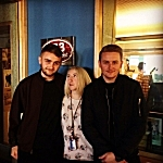 Jade with Guy and Howard Lawrence of Disclosure at  The Current