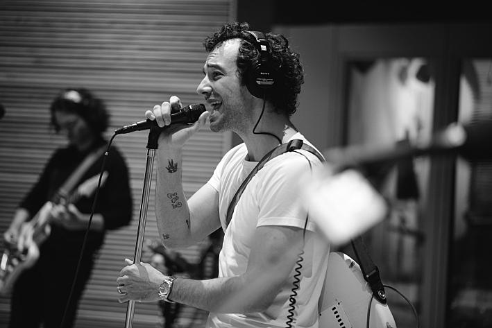 Albert Hammond Jr. performs in The Current studio.