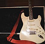 Albert Hammond Jr. has used this Fender Stratocaster since 1999.