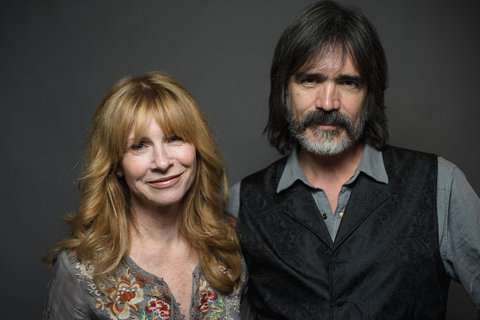 Teresa Williams and Larry Campbell