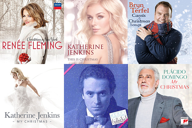 Opera singers' Christmas albums