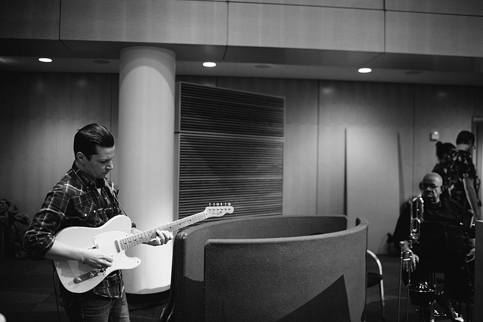 Lakers guitarist Blair Krivanek at The Current.