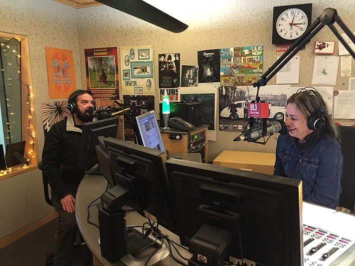 Brian Oake talks to Mary Lucia on 89.3 The Current.