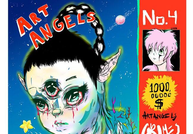 Grimes, 'Art Angels'