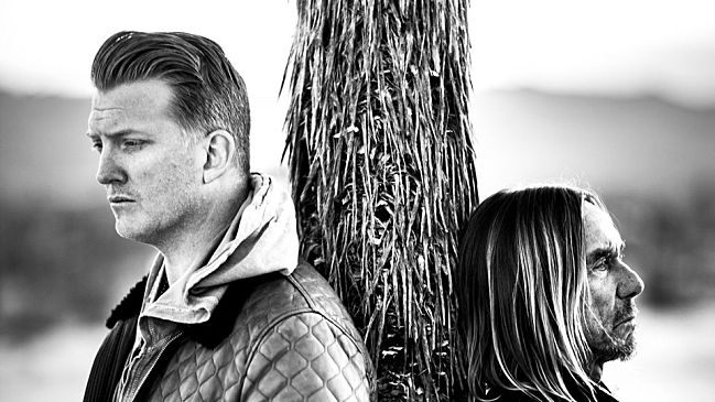 Josh Homme and Iggy Pop